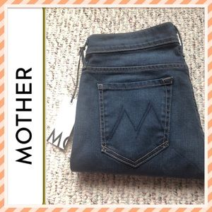 Mother The Vamp  Slit Jean NWT